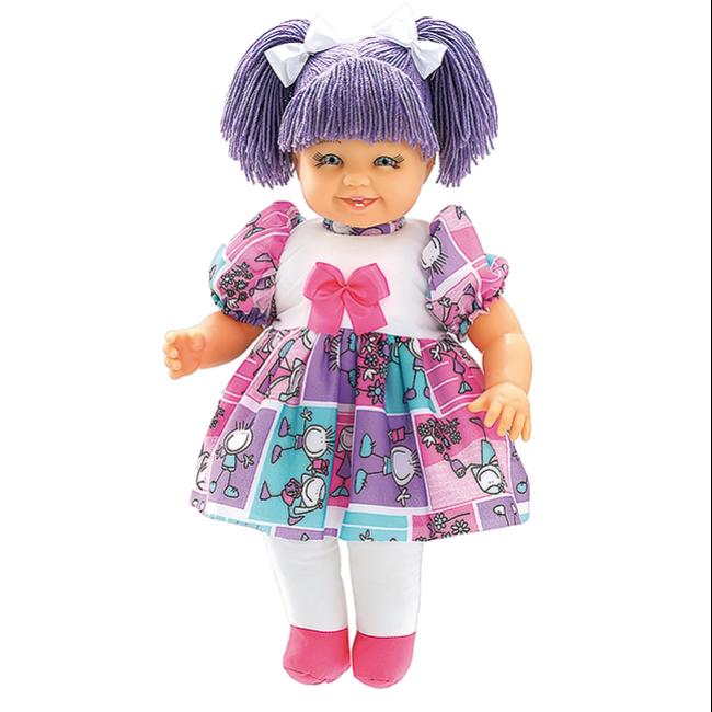 Maricota Boneca de Pano - Lilás