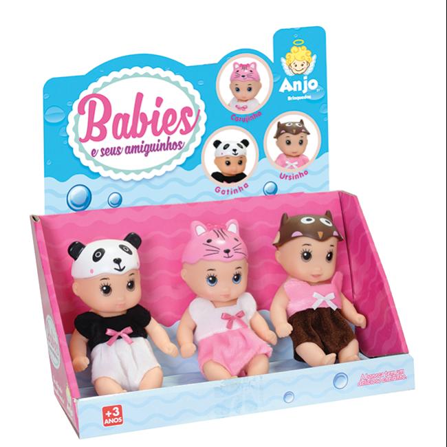 Babies e suas Amiguinhos - display