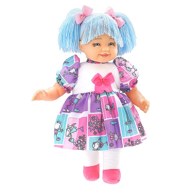 Maricota Boneca de Pano - Azul